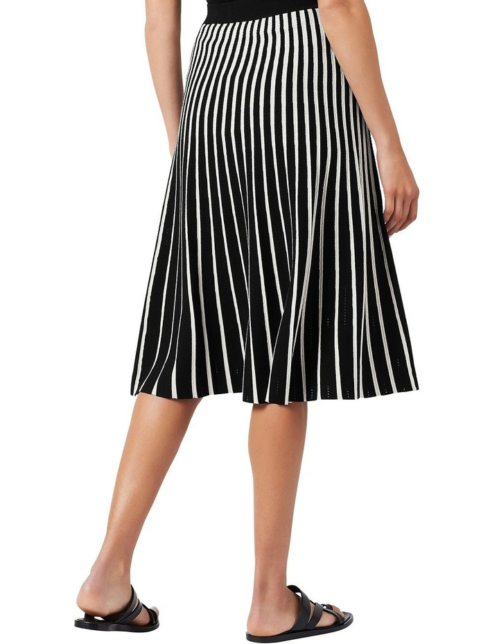 Knit Pleated Skirt image 3