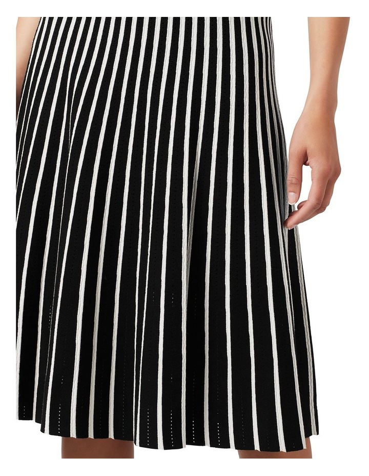 Knit Pleated Skirt image 4