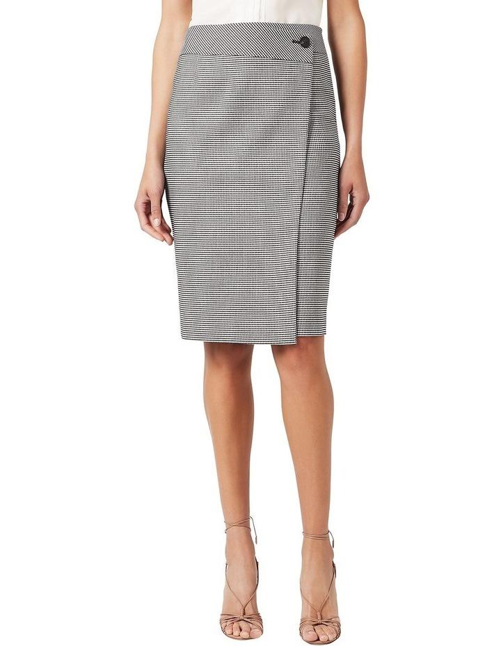Wrap Gingham Skirt image 1