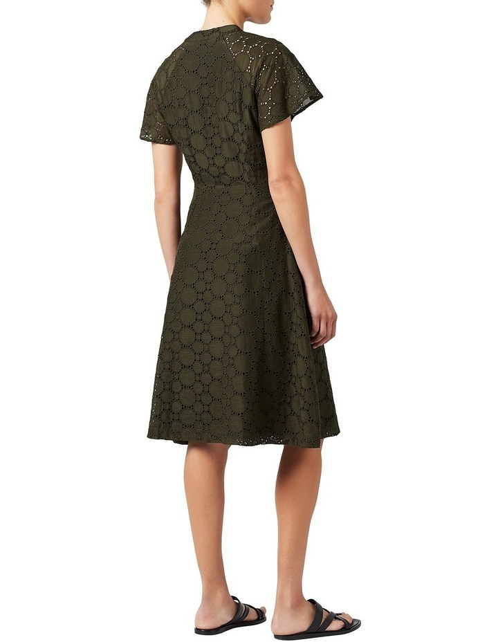Circular Lace Wrap Dress image 3