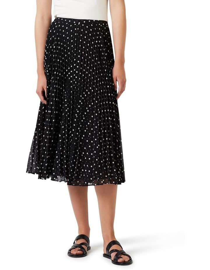 Spot Pleat Skirt image 1