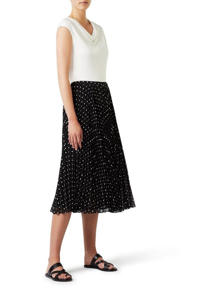 Spot Pleat Skirt image 2