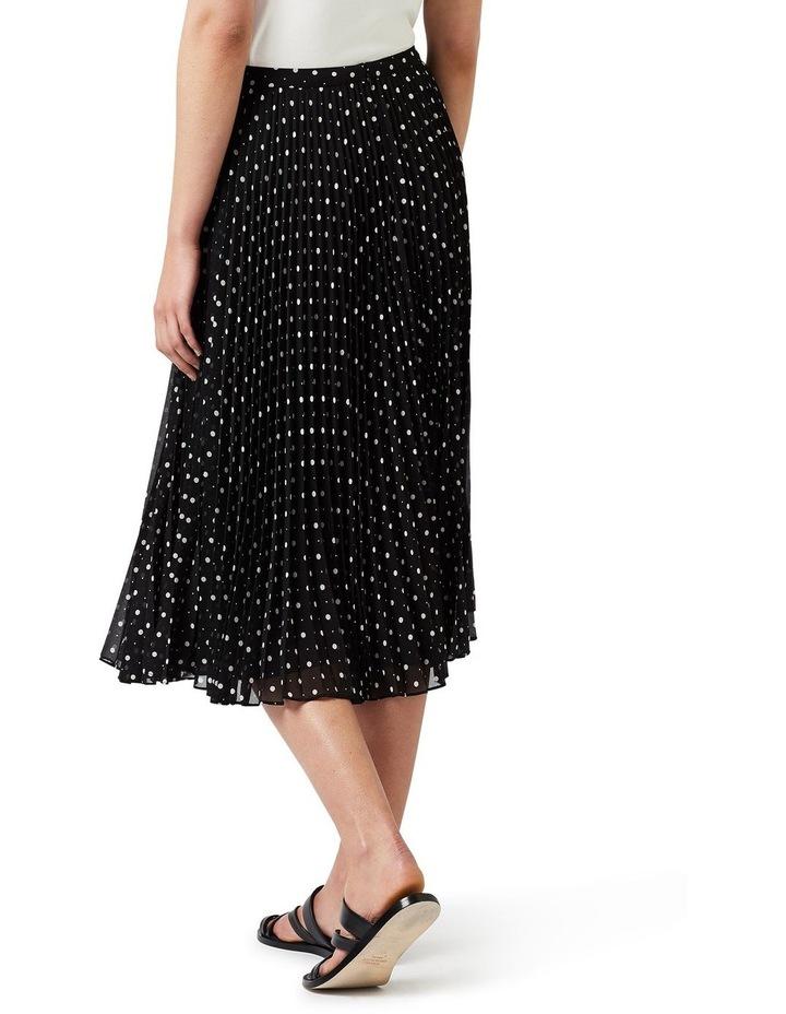 Spot Pleat Skirt image 4