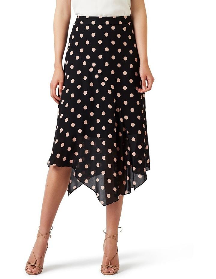 Rosebery Spot Silk Skirt image 1