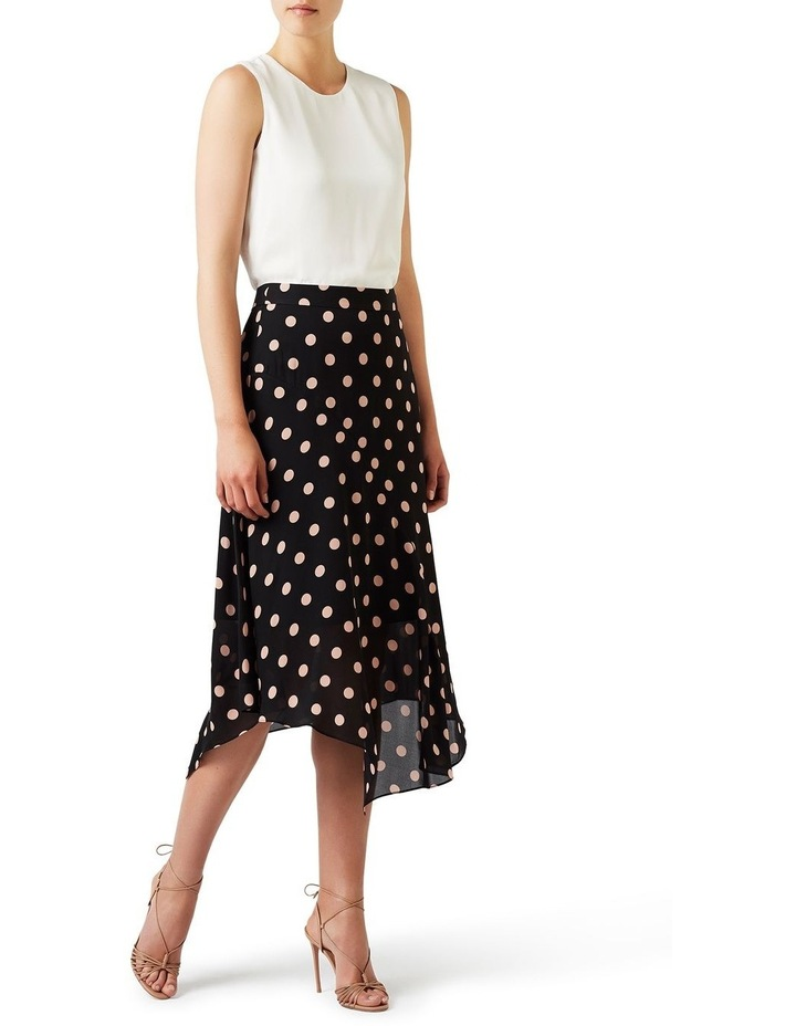 Rosebery Spot Silk Skirt image 2