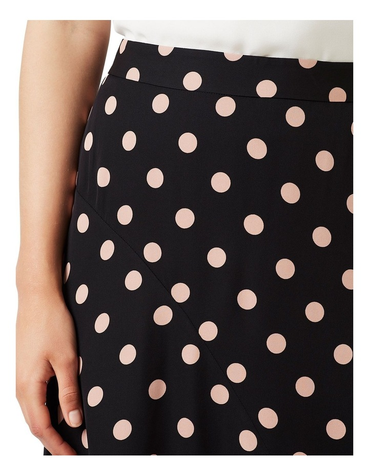 Rosebery Spot Silk Skirt image 3