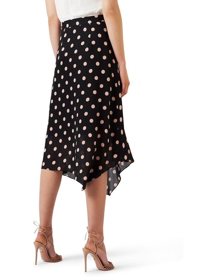 Rosebery Spot Silk Skirt image 4