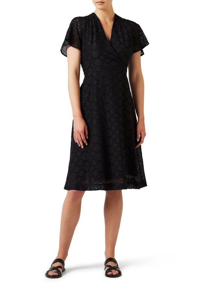 Circular Lace Wrap Dress image 1