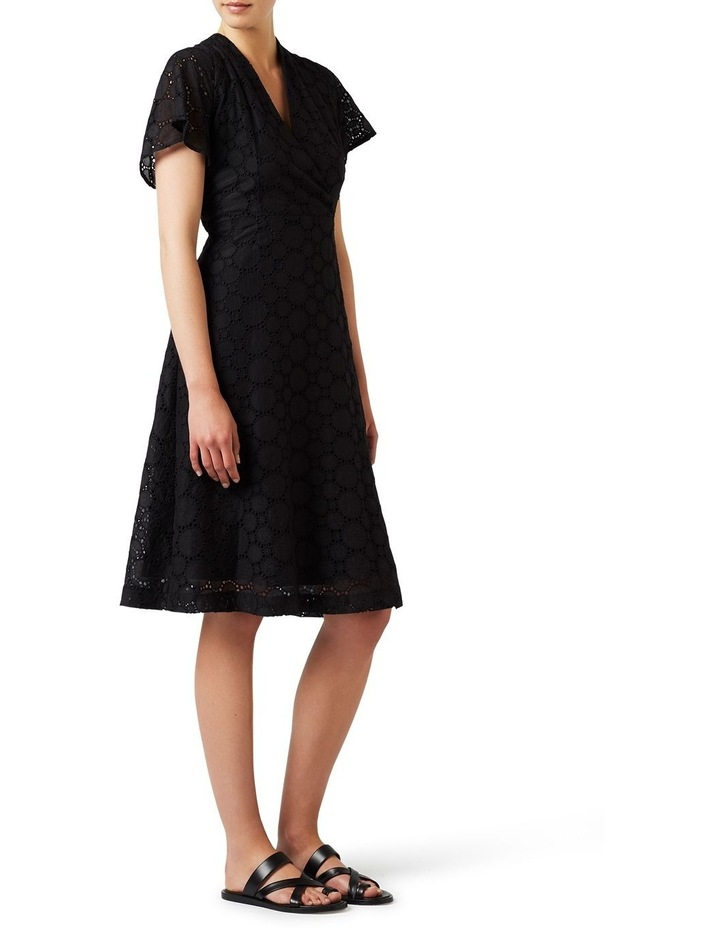 Circular Lace Wrap Dress image 2