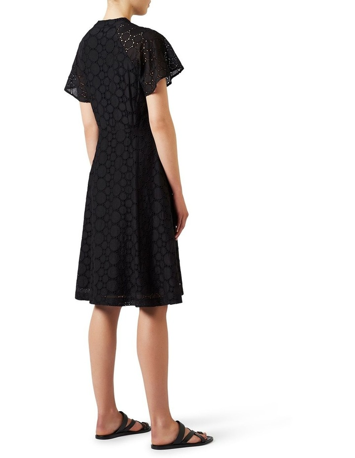 Circular Lace Wrap Dress image 4