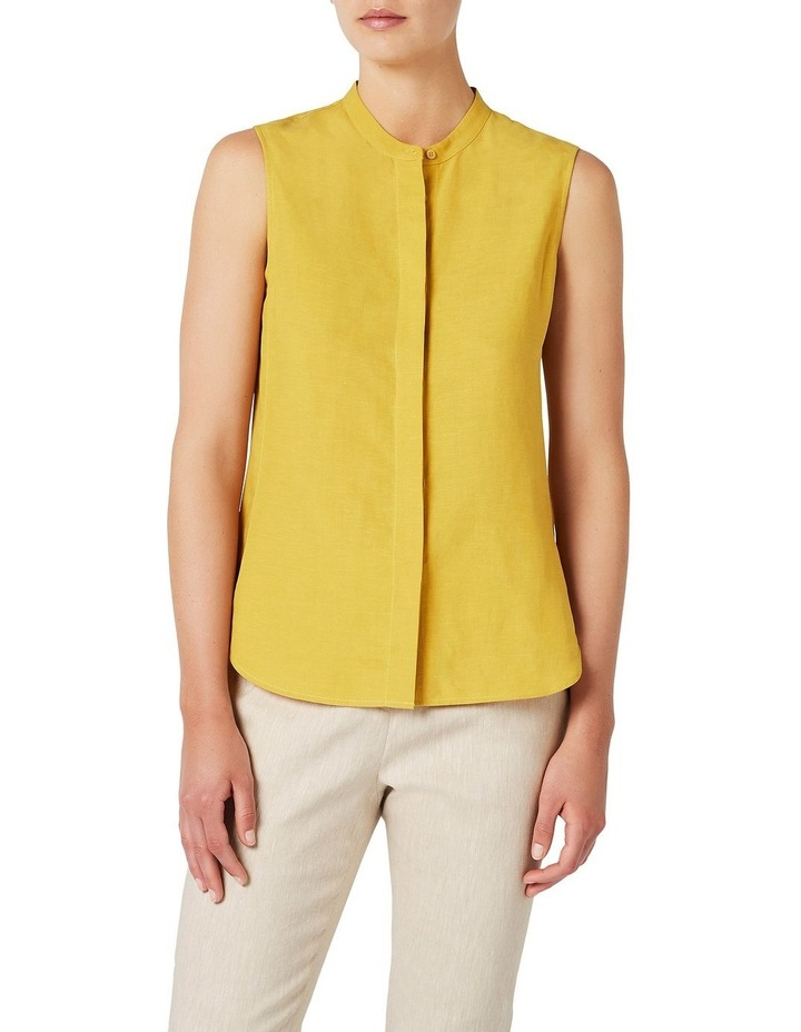 Sleeveless Linen Shirt image 1