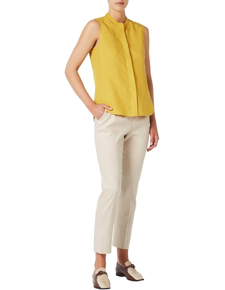 Sleeveless Linen Shirt image 2