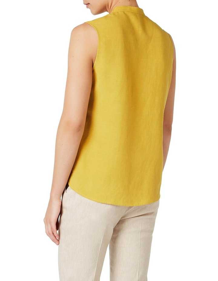 Sleeveless Linen Shirt image 3