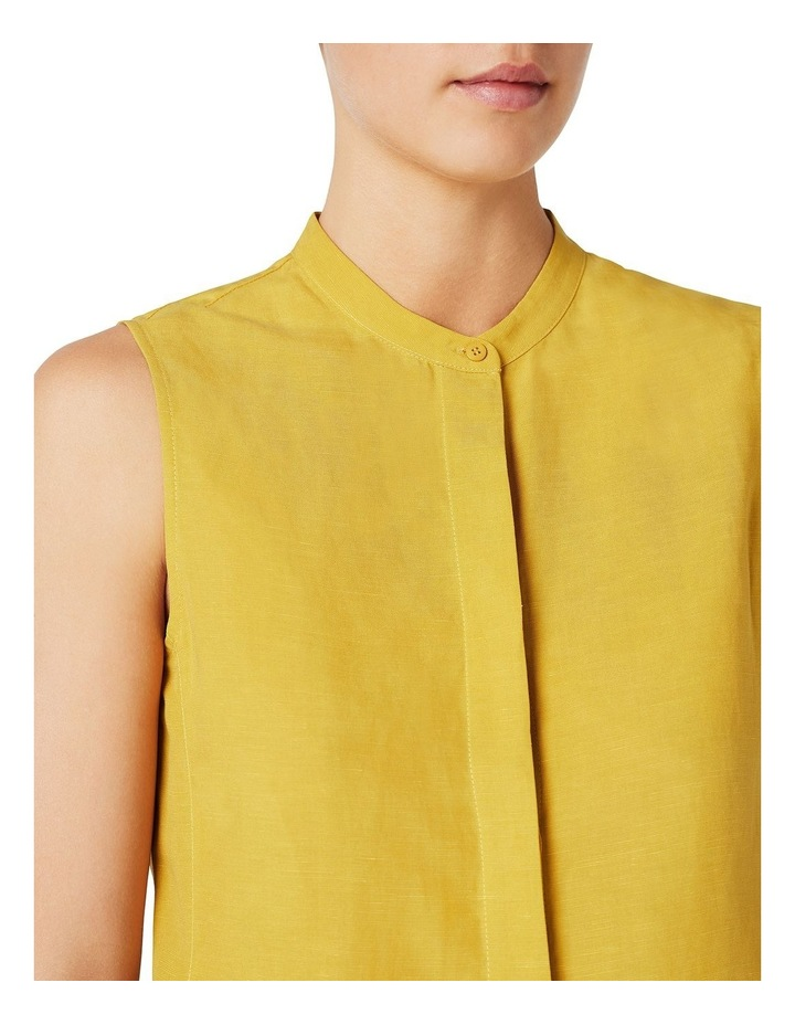 Sleeveless Linen Shirt image 4
