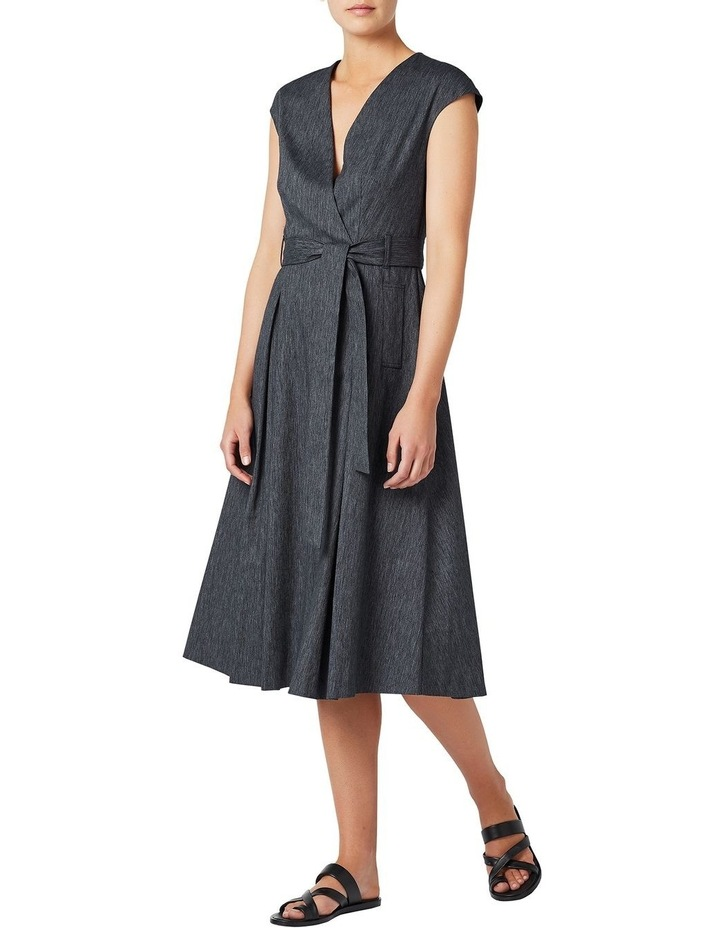 Fit And Flare Linen Dress image 2