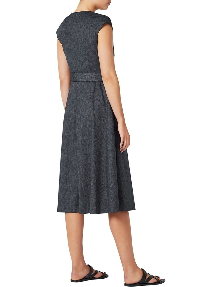 Fit And Flare Linen Dress image 3