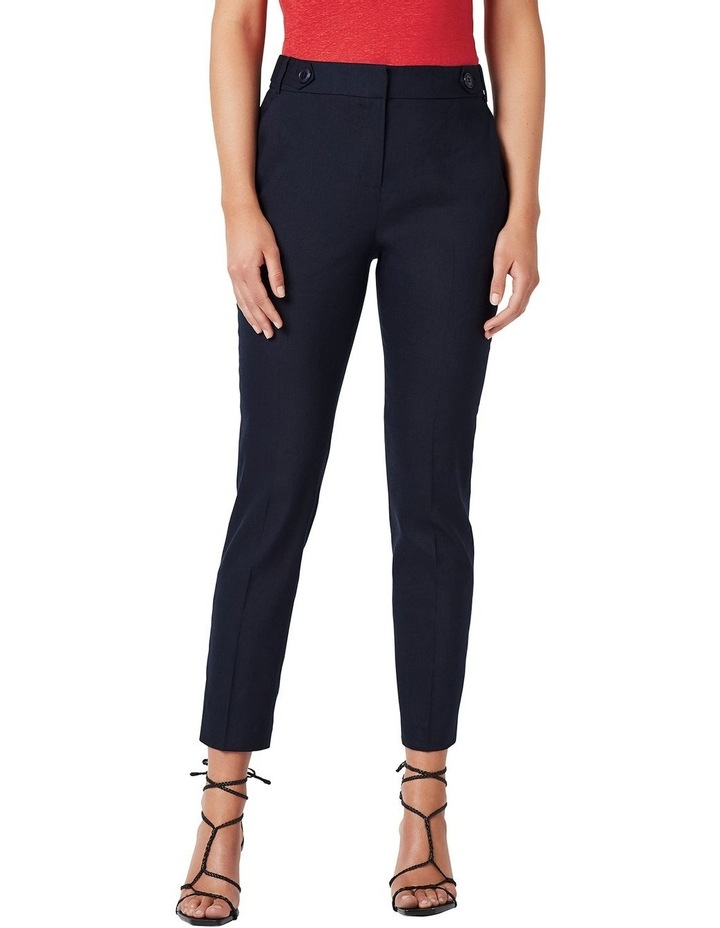 Pru Tapered Linen Pant image 1