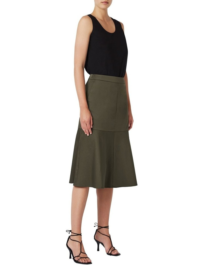 A Line Cotton Skirt image 2