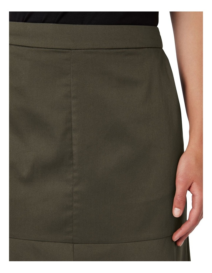 A Line Cotton Skirt image 4