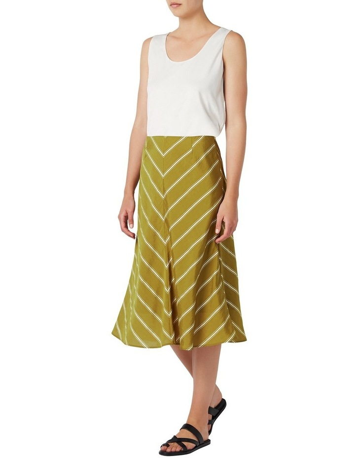 Emmy Stripe Aline Skirt image 2
