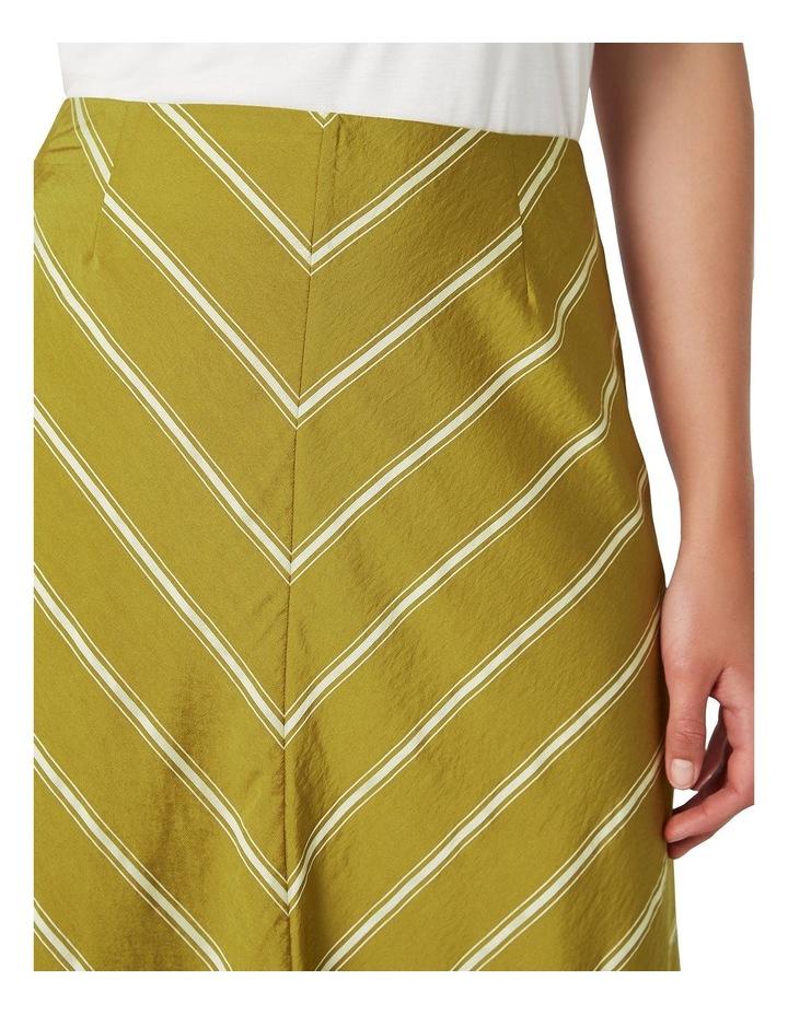 Emmy Stripe Aline Skirt image 4