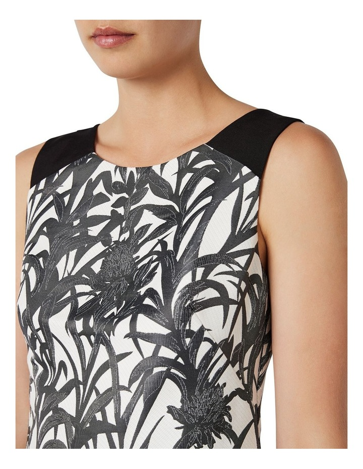 Sleeveless Palm Jacquard Dress image 4