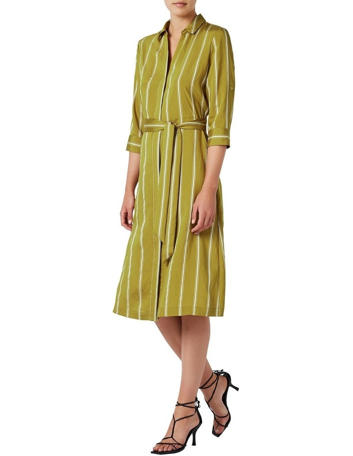 Emmy Stripe Shirt Dress image 1