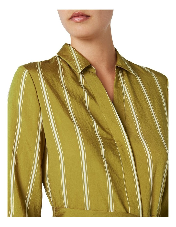 Emmy Stripe Shirt Dress image 4