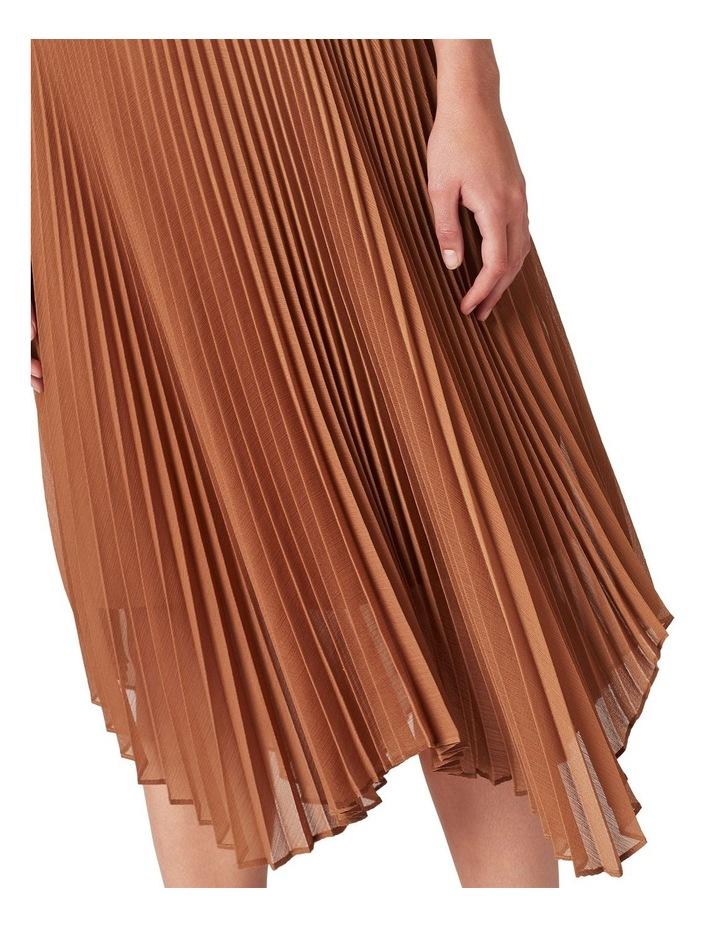 Pleated Midi Skirt image 4