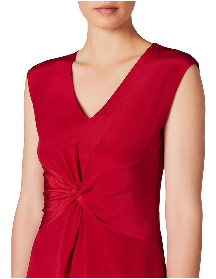 Twist Front Silk Mix Dress image 4