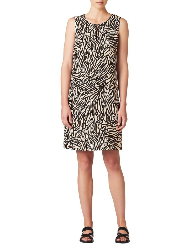 Annika Silk Shift Dress image 2