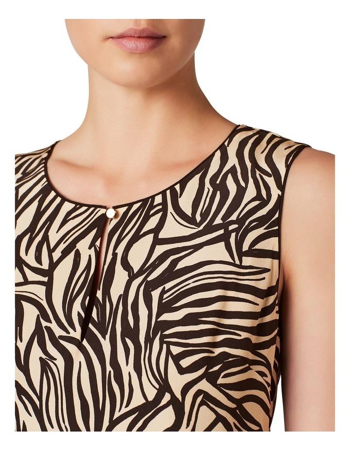 Annika Silk Shift Dress image 4
