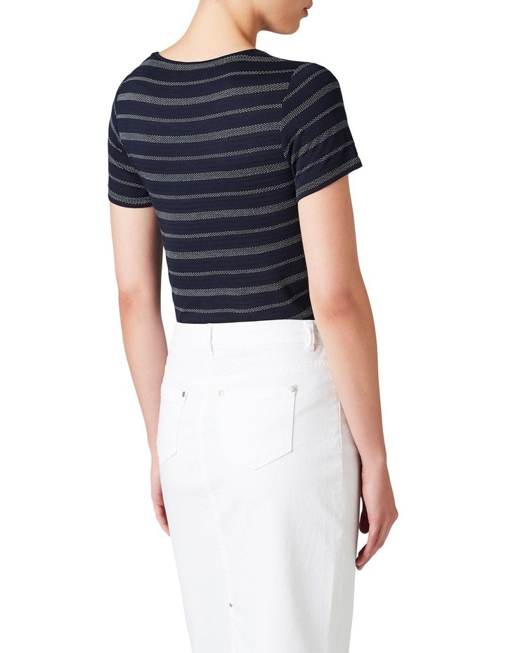 Textured Stripe Tee image 3