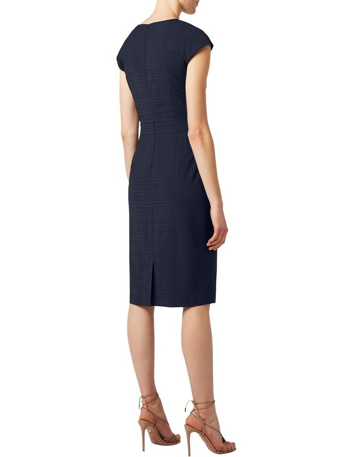 Tonal Check Dress image 3