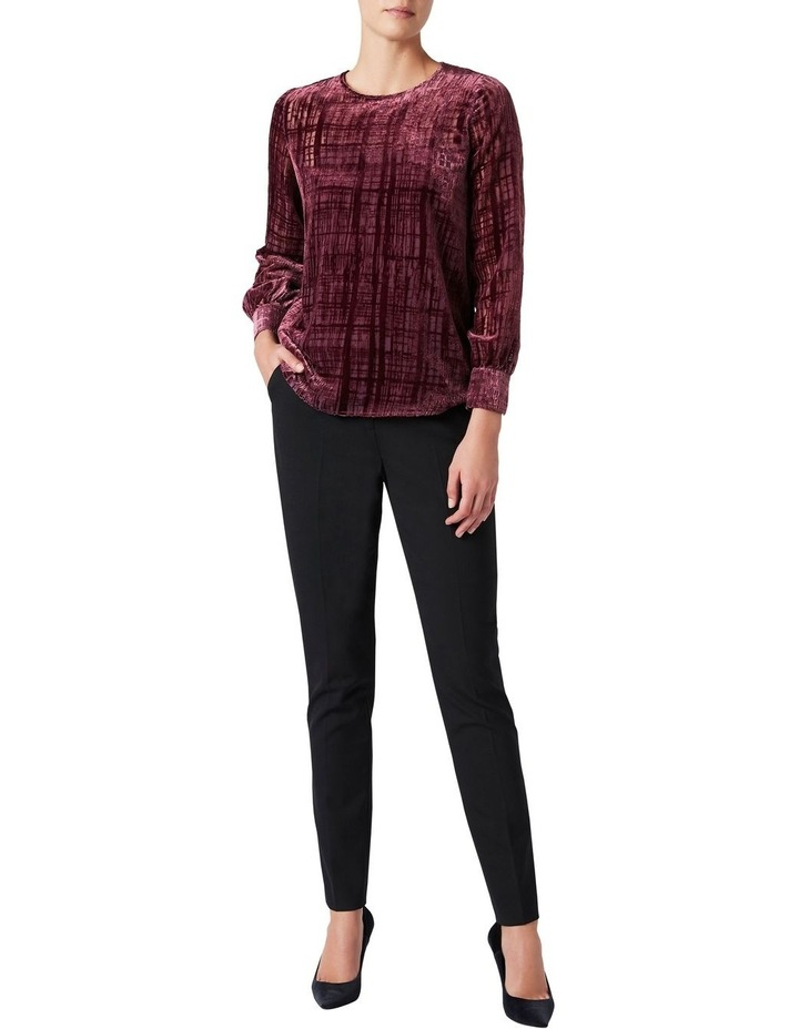 Burnout Check Blouse image 2