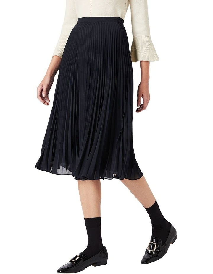 Pleated Midi Skirt image 1