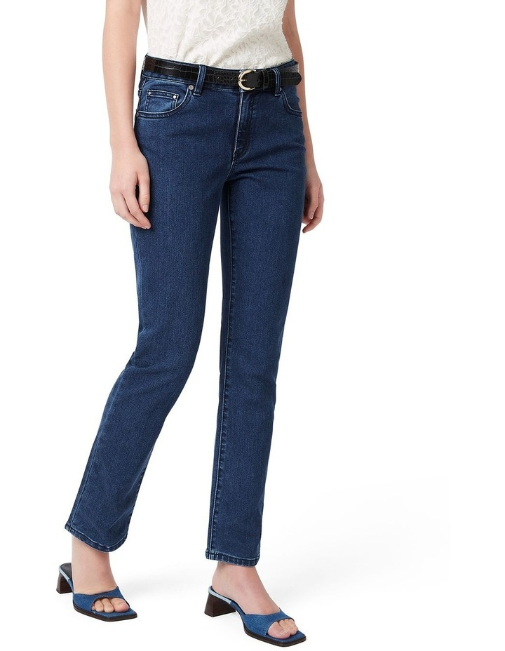Amanda Straight Leg Jean image 1