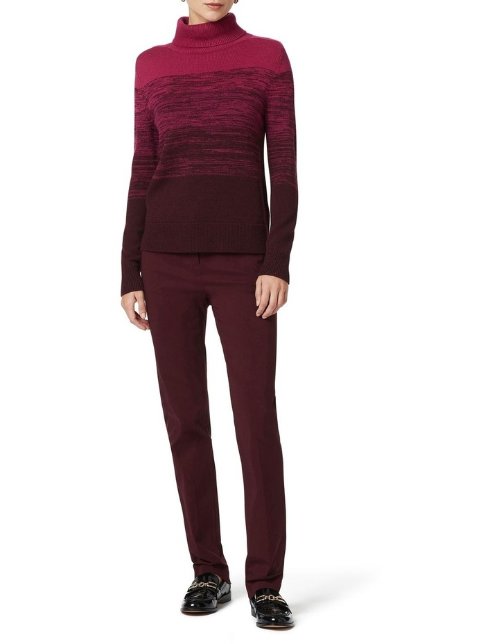 Ombre Roll Neck Knit image 2
