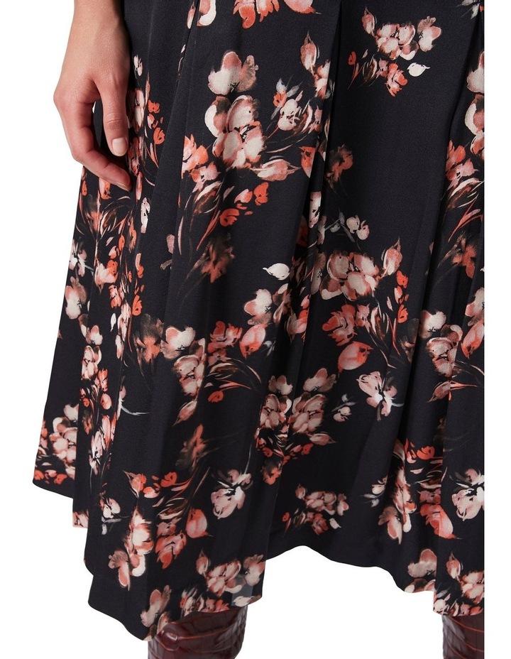 Lucinda Pleated Midi Skirt image 4