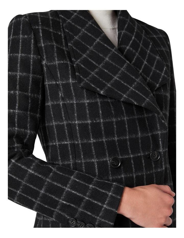 Avelin Check Felted Wool Jacket image 4
