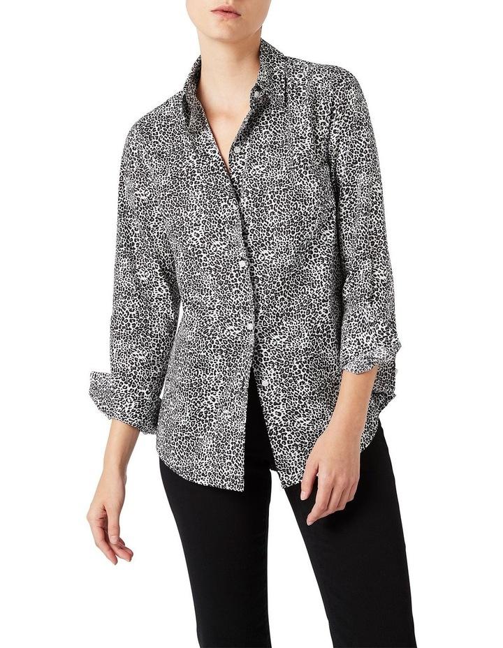 Leopard Cotton Shirt image 1