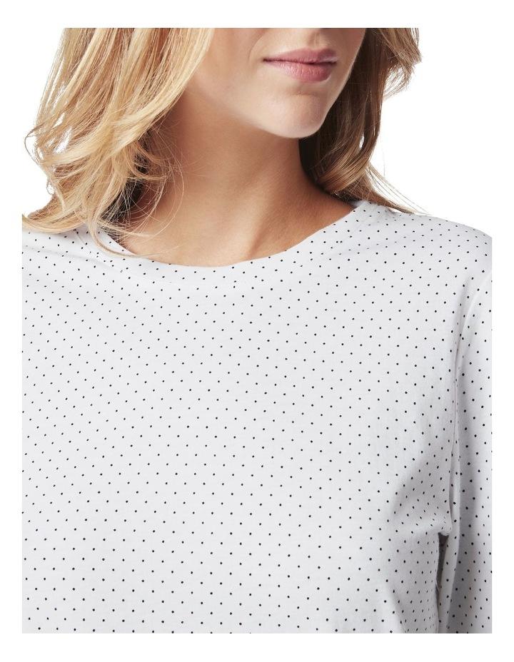 3/4 Sleeve Spot Cotton Tee image 5