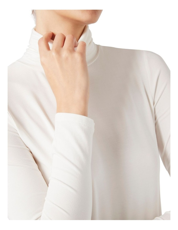 Bamboo Jersey Roll Neck image 3