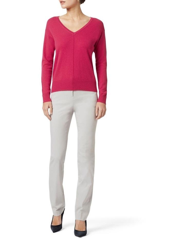 Cashmere V Neck Knit image 2