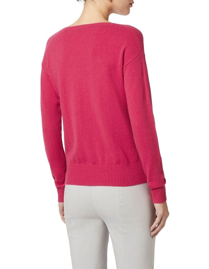 Cashmere V Neck Knit image 4