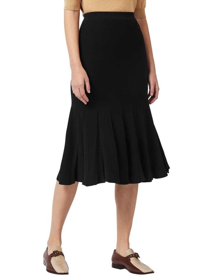 Knit Pleat Skirt image 1