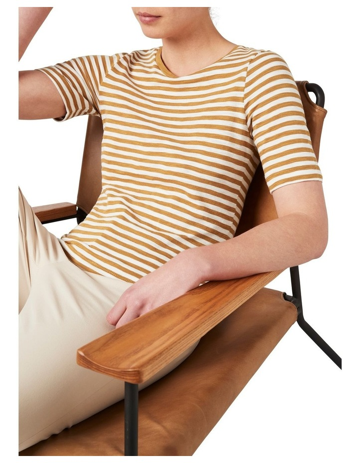 Cassis Stripe Tee image 2