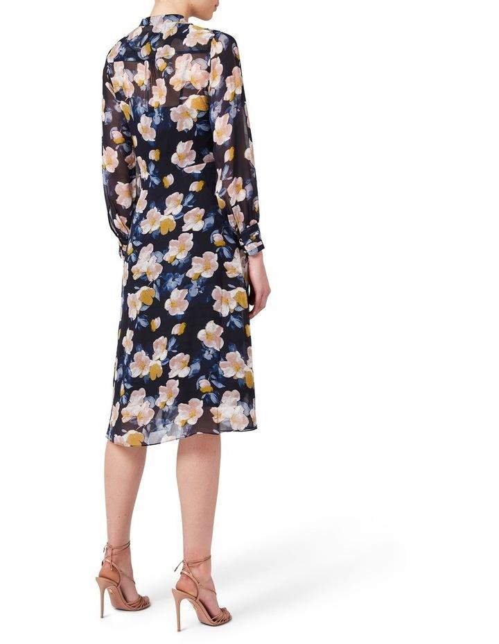 Keiko Tie Front Silk Dress image 3