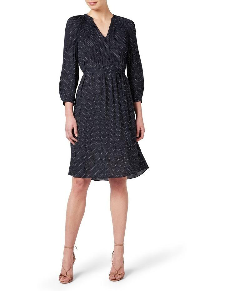 Pleated Spot Dress image 1