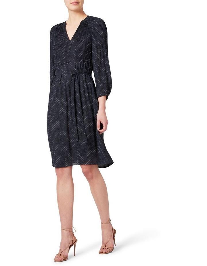 Pleated Spot Dress image 2
